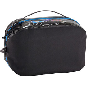Patagonia Black Hole Cube Toiletry Bag size M, black w/fitz trout